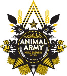 Animal army brewery logo