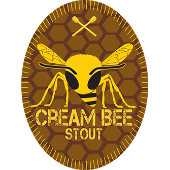 Cream bee stout logo
