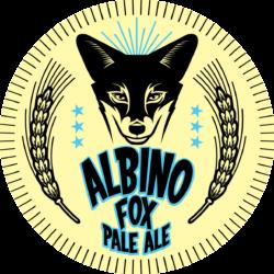 Animal army brewery albino fox ale logo